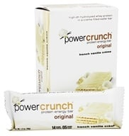 BioNutritional Research Group - Power Crunch Protein Energy Bar Vanilla Creme - 5 Bars - $6.99