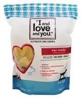 I And Love And You - Ear Candy Beef Ear Chews - 5 Pack