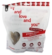 Image of I And Love And You - Power Pucks Freeze Dried Dog Food Beef Recipe - 12 Patties - 12 Pack