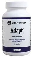 InterPlexus - Adapt Adrenal Support - 90 Vegetarian Capsules