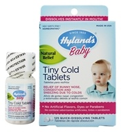 Hylands - Baby Tiny Cold Tablets - 125 Tablet(s) (354973315815)