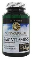 Sunwarrior - Raw Vitamins Daily Multivitamin for Him - 90 Vegetarian Capsules