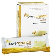 Image of BioNutritional Research Group - Power Crunch Protein Energy Bar Peanut Butter Creme - 5 Bars