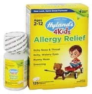 Hylands - 4Kids Allergy Relief - 125 Tablet(s) (354973316317)