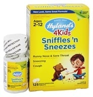 Hylands - 4Kids Sniffles n' Sneezes - 125 Tablet(s)