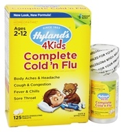 Hylands - 4Kids Complete Cold 'n Flu - 125 Tablet(s) (354973316416)