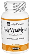 Image of InterPlexus - Poly VytaMyns Multi-Vitamins & Minerals - 90 Vegetarian Capsules
