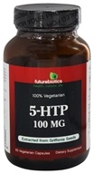 Futurebiotics - 100% Vegetarian 5-HTP 100 mg. - 60 Vegetarian Capsules