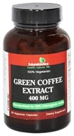 Futurebiotics - 100% Vegetarian Green Coffee Extract 400 mg. - 60 Vegetarian Capsules (049479006496)
