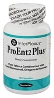 InterPlexus - ProEnt2 Plus for Gastrointestinal Health - 90 Vegetarian Capsules (0766897258596)