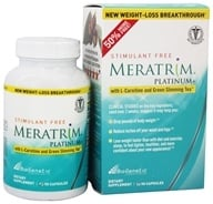BioGenetic Laboratories - Meratrim Platinum+ Stimulant Free with L-Carnitine & Green Slimming Tea - 90 Capsules - $39.99