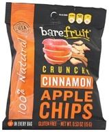 Image of Bare Fruit - 100% Natural Crunchy Apple Chips Granny Smith - 0.53 oz.