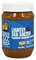Don't Go Nuts - Soy Butter Non-GMO Lightly Sea Salted - 16 oz., from category: Health Foods