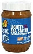 Don't Go Nuts - Soy Butter Non-GMO Lightly Sea Salted - 16 oz. (851653004293)