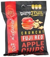 Bare Fruit - 100% Natural Crunchy Apple Chips Fuji Red - 0.53 oz. (013971001921)