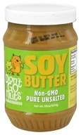 Don't Go Nuts - Soy Butter Non-GMO Pure Unsalted - 16 oz. by Don't Go Nuts