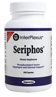 InterPlexus - Seriphos Phosphorylated 세린 Adaptogen 및 신장에 가까운 지원 - 100 캡슐