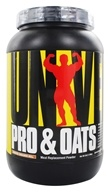Universal Nutrition - Pro & Oats Meal Replacement Powder Frosted Cinnamon Roll - 3 lbs. (039442048608)