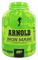 Muscle Pharm - Arnold Schwarzenegger Series Arnold Iron Mass Chocolate Malt - 5 lbs., from category: Sports Nutrition