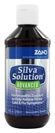Zand - Silva Solution Advanced Cold & Flu Relief - 8 oz. (Formerly Trimedica)