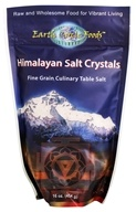 Earth Circle Organics - Himalayan Culinary Mineral Salt Crystals - 1 lb.