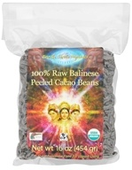 Earth Circle Organics - Organic 100% Raw Balinese Peeled Cacao Beans - 1 lb.