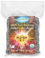Earth Circle Organics - Organic 100% Raw Balinese Peeled Cacao Beans - 1 lb. by Earth Circle Organics