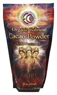 Earth Circle Organics - Organic 100% Raw Balinese Cacao Powder - 1 lb. (813313012116)