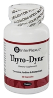 InterPlexus - Thyro-Dyne Tyrosine, Iodine & Botanicals - 60 Vegetarian Capsules by InterPlexus