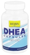 Natural Balance - DHEA 25 mg. - 180 Capsules (Formerly Trimedica)