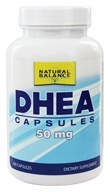 Natural Balance - DHEA 50 mg. - 180 Capsules (Formerly Trimedica) - $13.99