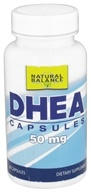 Image of Natural Balance - DHEA 50 mg. - 60 Capsules (Formerly Trimedica)