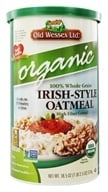 Old Wessex Ltd. - Irish-Style Oatmeal Organic - 18.5 oz., from category: Health Foods
