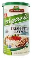 Image of Old Wessex Ltd. - Irish-Style Oatmeal Organic - 18.5 oz.