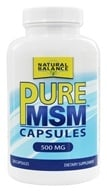 Natural Balance - Pure MSM 500 mg. - 250 Capsules (Formerly Trimedica) by Natural Balance
