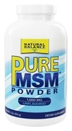 Natural Balance - Pure MSM 1000 mg. - 1 lb. (Formerly Trimedica)