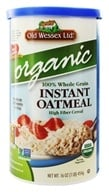 Image of Old Wessex Ltd. - Instant Oatmeal Organic - 16 oz.