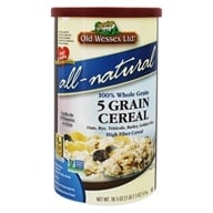 Image of Old Wessex Ltd. - 5 Grain Cereal All-Natural - 18.5 oz.