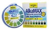 Natural Balance - AlkaMax Alkaline Booster pH Papers - 180 Strip(s) (Formerly Trimedica) by Natural Balance