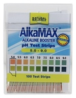 Natural Balance - AlkaMax Alkaline Booster pH Papers - 100 Strip(s) (Formerly Trimedica) by Natural Balance