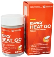 EPIQ - Heat GC Green Coffee & Garcinia Formula - 60 Capsules, from category: Diet & Weight Loss