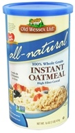Old Wessex Ltd. - Instant Oatmeal All-Natural - 16 oz., from category: Health Foods