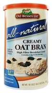 Old Wessex Ltd. - Creamy Oat Bran Cereal All-Natural - 18.5 oz. - $3.39
