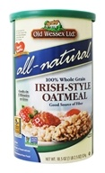 Old Wessex Ltd. - All-Natural 100% Whole Grain Irish-Style Oatmeal - 18.5 oz.