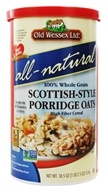 Old Wessex Ltd. - Scottish-Style Porridge Oats - 18.5 oz. (025335330141)