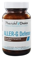 Prescribed Choice - Aller-G Defense Herbal Blend - 60 Vegetarian Capsules - $19.24
