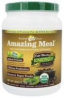 Amazing Grass - Amazing Meal Powder 30 Servings Cafe Mocha - 28.3 oz. by Amazing Grass