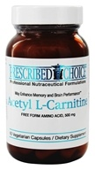 Prescribed Choice - Acetyl L-Carnitine Free Form Amino Acid 500 mg. - 60 Vegetarian Capsules by Prescribed Choice