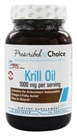 Prescribed Choice - Krill Oil 1000 mg. - 60 Softgels by Prescribed Choice