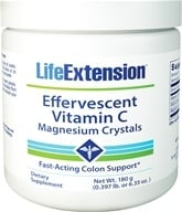 Life Extension - Effervescent Vitamin C - Magnesium Crystals - 6.35 oz. by Life Extension
